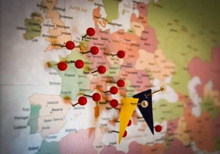Viajar con animales por europa