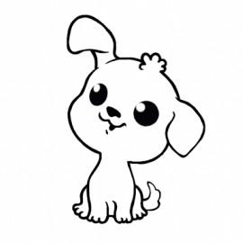 perro kawaii 2